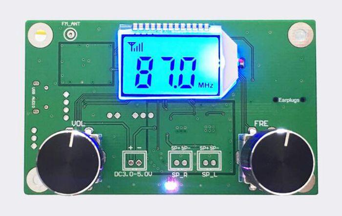 FM Stereo Modulator FM Radio Receiver Module With Silencing LCD Display 3-5V - FM Module - Arduino, 3D Printing, Robotics, Raspberry Pi, Wearable, LED, development board Black Friday 2016 ICStation