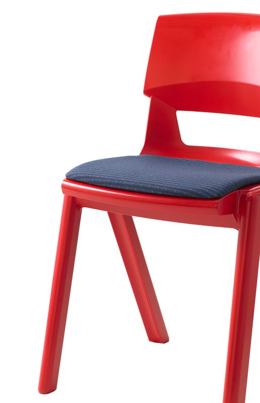 sebelfurniture.com - Postura Plus 'Adult Size' Chair - available in dark colours, interlocking, seat and back pad options (or maybe just seat which would be ok)