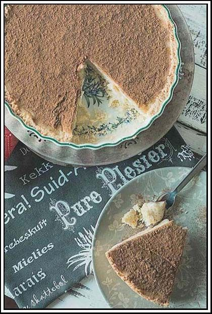 Milk Tart recipe from the Thermomix South African book - Port A Kitchen : SA Thermomix