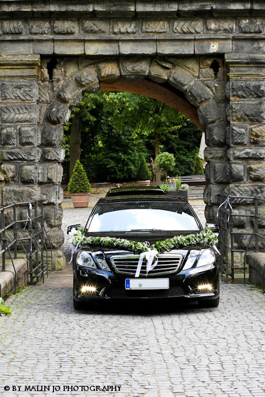typically decorated car for a wedding in Germany... memories