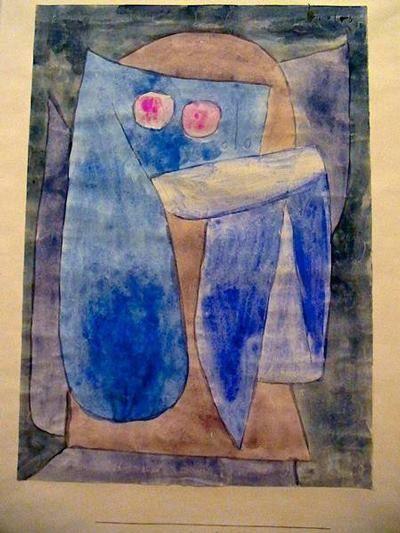 Paul Klee -Ange timide,1939                                                                                                                                                                                 More