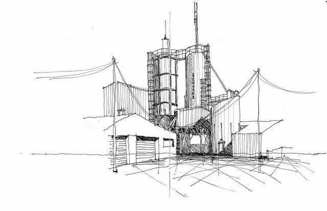 Школа архитектурной графики/Интерьерный скетчинг