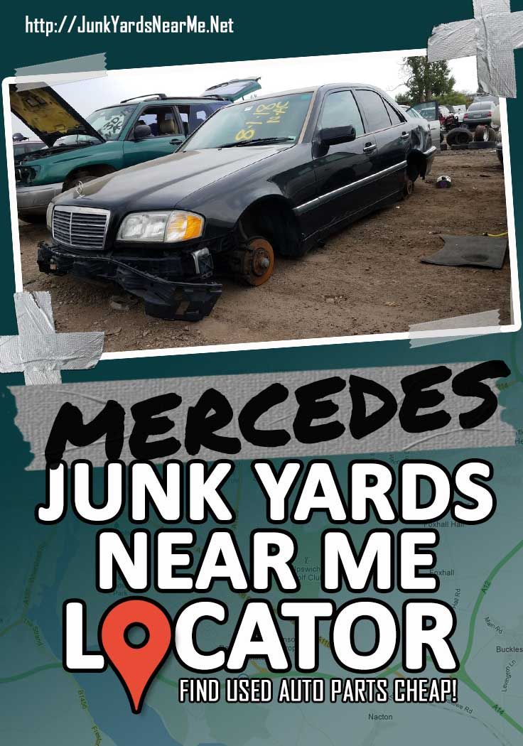 Mercedes Salvage Yards Near Me Locator Map Guide Faq Used