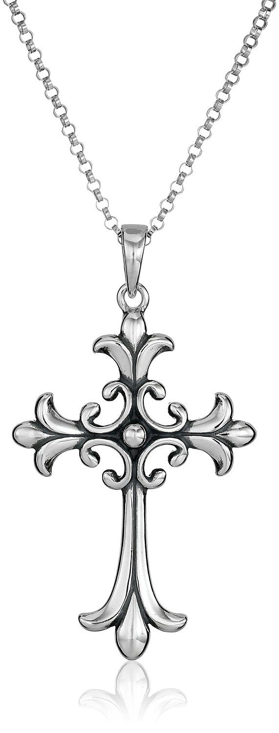 Sterling Silver Celtic Cross Pendant Necklace -- Quickly view this special jewelry, click the image : trend jewelry 2016