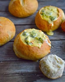 Quick and Easy Bread Bowls | I'll probably use my favorite sourdough recipe and use this for the shaping.