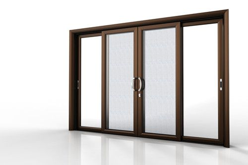 VSD190 Sliding Door is a product of Galuminum Group Ltd.It could be made for a) Two sliding panels b) Four sliding panels c)One fixed one sliding panel d) two fixed two sliding panels With top positioned wheel set design. It could be fixed with 6A+19A+6A double glazing.