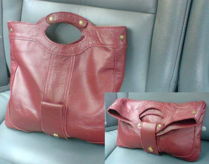 Выкройки модных сумок из кожи. .  - Каталог сумочек, клатчей, портфелей, чемоданов и рюкзаков 2015 года.