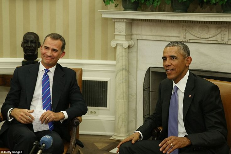 A White House statement said the visit will 'reinforce the strong and enduring ties betwee...
