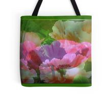 Poppy Layers: Tote Bag - available for purchase from Redbubble