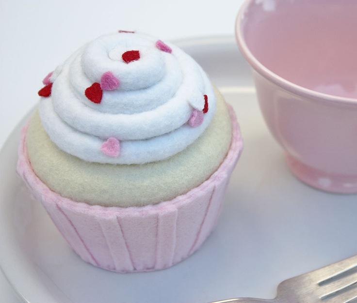 Vanilla Valentines Day Felt Pink