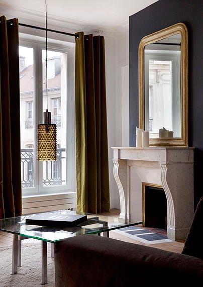 1000 id es sur le th me miroir de chemin e sur pinterest d coration d 39 un manteau de chemin e. Black Bedroom Furniture Sets. Home Design Ideas