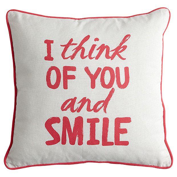 Smile Cushion | Target Australia