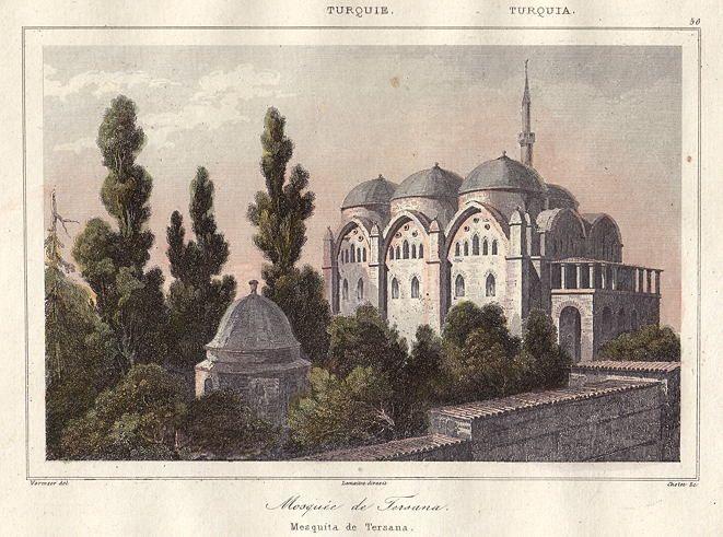 Tersane Cami - Turkey, Istanbul, Mosque of Tersana, 1847