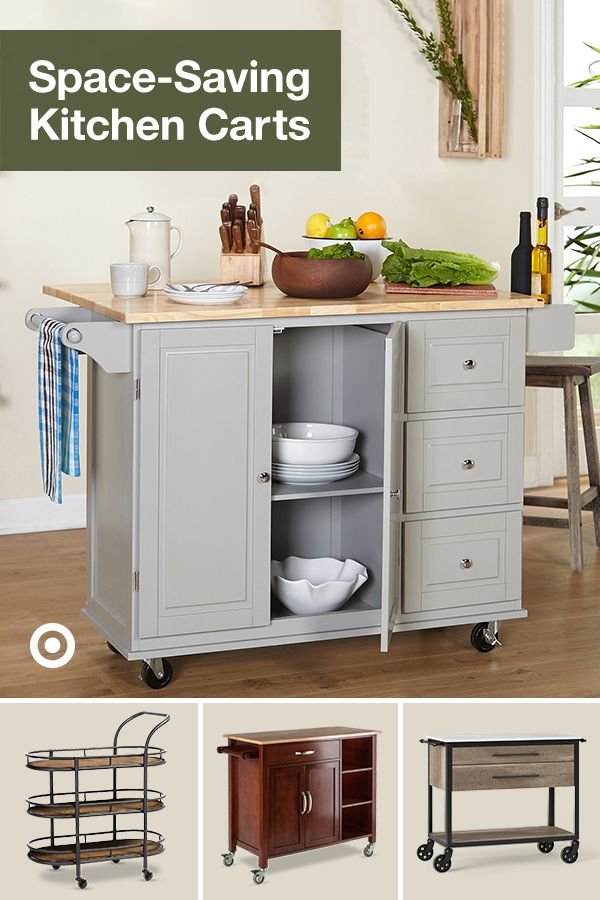 Add Counter Space Storage Organization Decor With A Kitchen Cart Or Island Find Ideas For A Qui Kitchen Design Small Home Decor Kitchen Kitchen Renovation