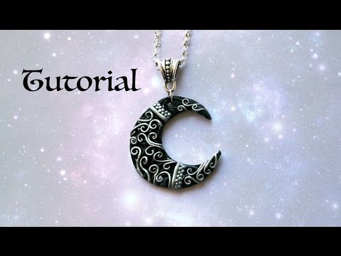 手机壳定制jordan retros  sale Ornate Crescent Moon DIY Pendant Polymer Clay Jewelry  Jewellery Tutorial  YouTube