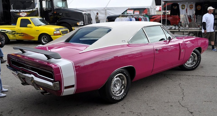 1 of 1 made 1970 dodge charger sixpack 4 speed 410 rt se in fm3 39 panther pink 39 factory 39 go wing. Black Bedroom Furniture Sets. Home Design Ideas