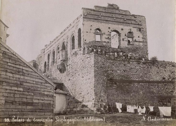 Tekfur Sarayı Nikolai Andreomenos fotoğrafı
