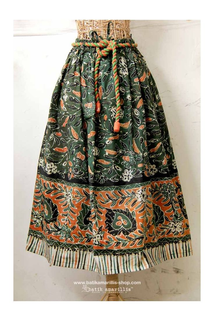 FRESHLY MADE Batik Amarillis's Traveller skirt in gorgeous Batik gendongan sidoarjo , Get it Fast at Batik Amarillis webstore www.batikamarillis-shop.com , before it's gone for good !