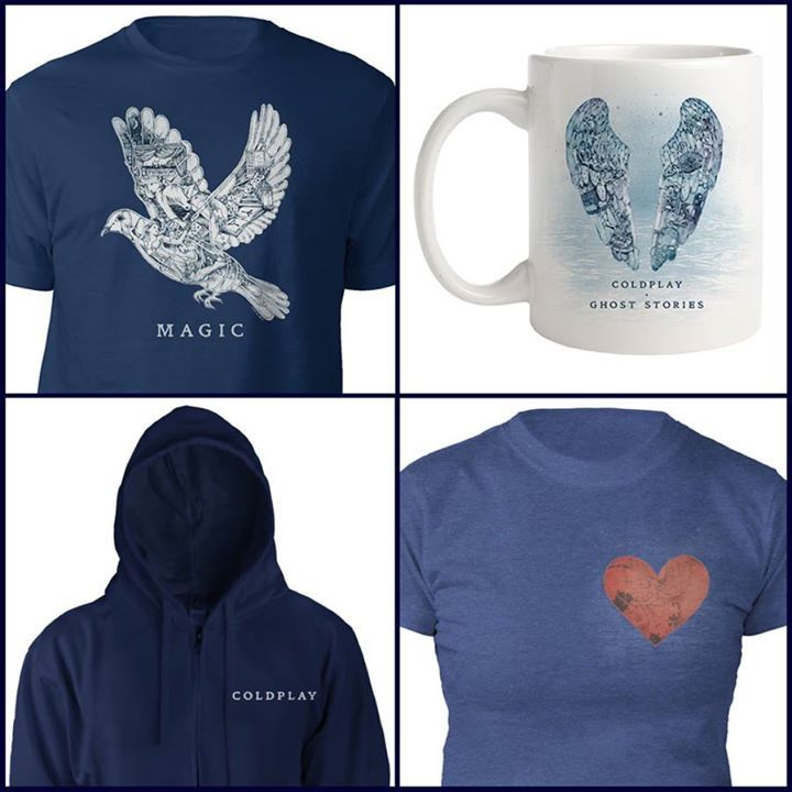 Coldplay #MAGIC #GhostStories Last month's top sellers in the Coldplay Store (http://cldp.ly/thecpstore)…