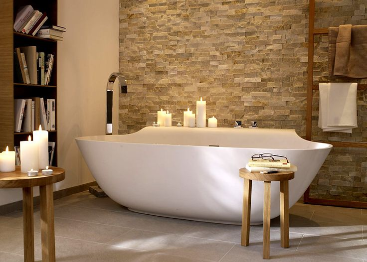 25+ parasta ideaa pinterestissä: naturstein waschbecken | beton, Badezimmer gestaltung