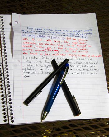 Write a Collaborative Story Activity