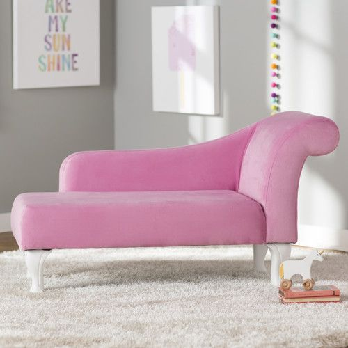 Found it at Wayfair - Leslie Kids Chaise Lounge