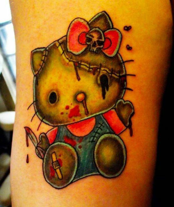 333 Best Hello Kitty Tattoos Images On Pinterest