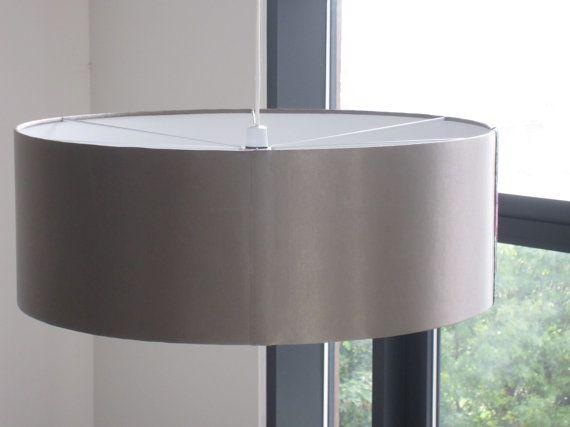 70cm Trommel-Lampenschirm Maßgeschneidertes von HomeOfficeCharm