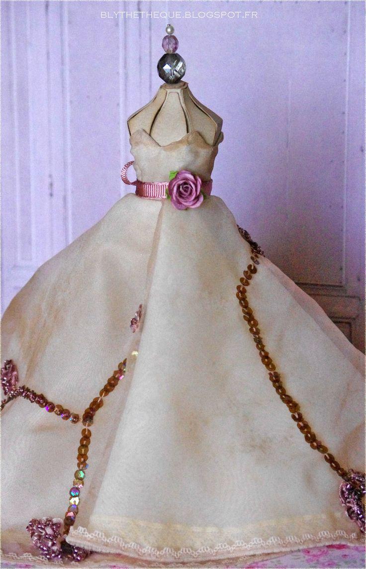 Vintage hand made dress for Blythe