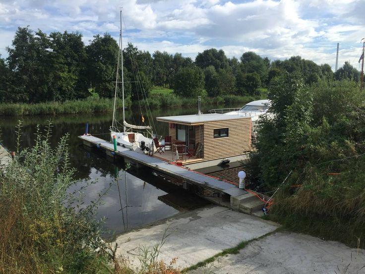Hausboot HT 5 mit Kamin im Salon in ruhiger Lage! Boote