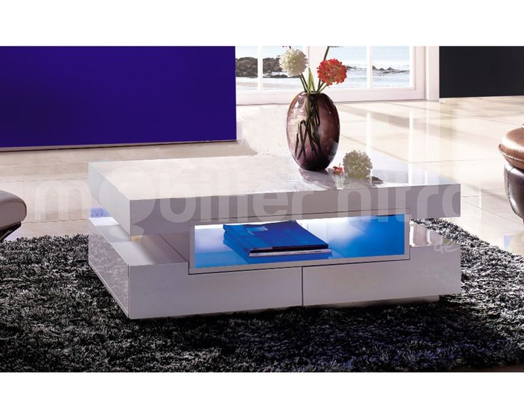 les 25 meilleures id es de la cat gorie table basse led. Black Bedroom Furniture Sets. Home Design Ideas