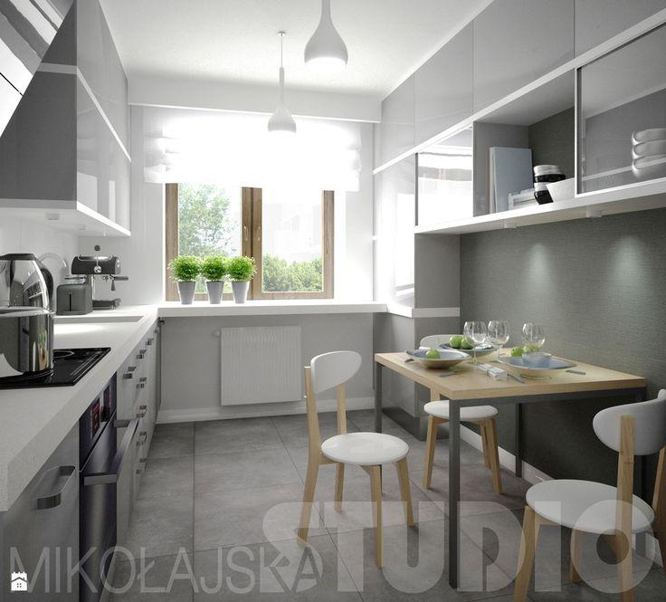 Skandynawska kuchnia - zdjęcie od MIKOŁAJSKAstudio - Kuchnia - Styl Nowoczesny - MIKOŁAJSKAstudio