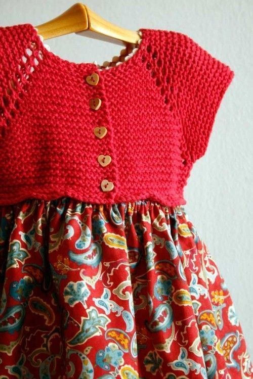 Vestido sencillo de punto en patrones gratis en Inke. Madrid