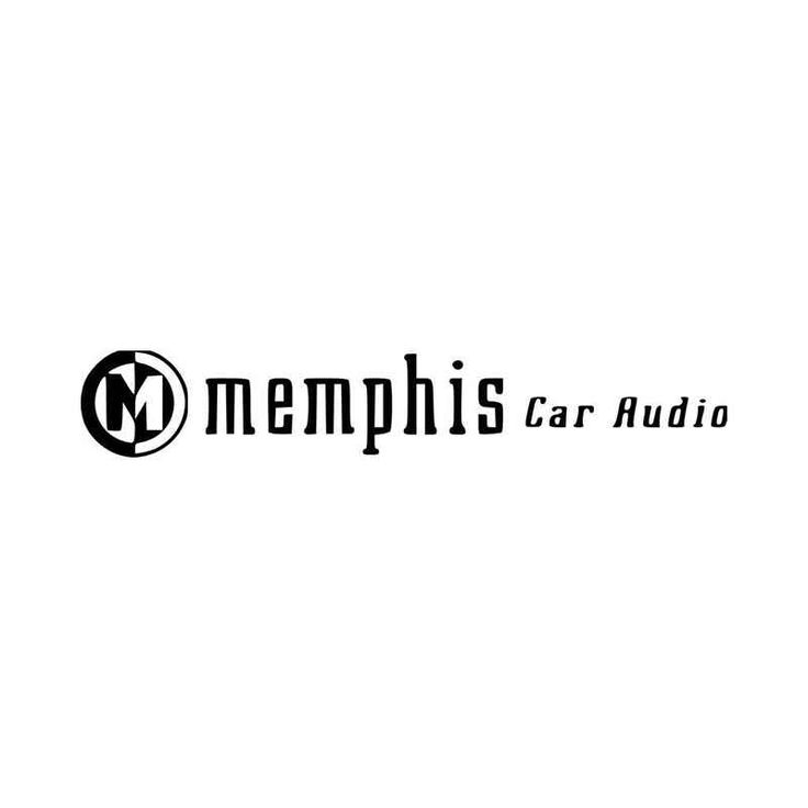 Memphis Car Audio Aftermarket Logo Graphic Vinyl Decal Sticker  BallzBeatz . com