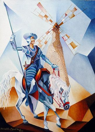 Don Quixote (70x60) - Damião Martins