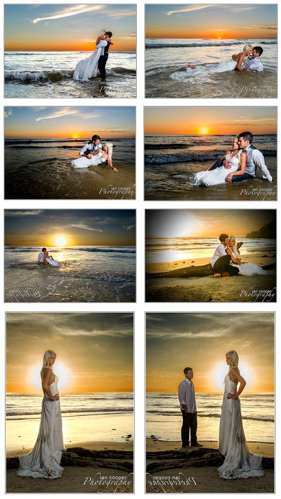 "Some people call it Trash the Dress, others ""Rok Die Frok"" or ""Drown the Gown""...I call simply beautiful Post Wedding Imagery. www.icphotos.co.za"