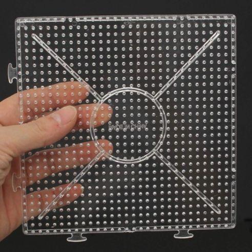 Квадратная основа для термо мозаики. Можно сцеплять их и делать большое полотно для мозаики. Купить можно здесь - http://ali.pub/lajkz