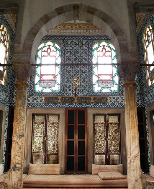 Enderûn Library, Topkapi Palace, Istanbul by SvKck, via Flickr