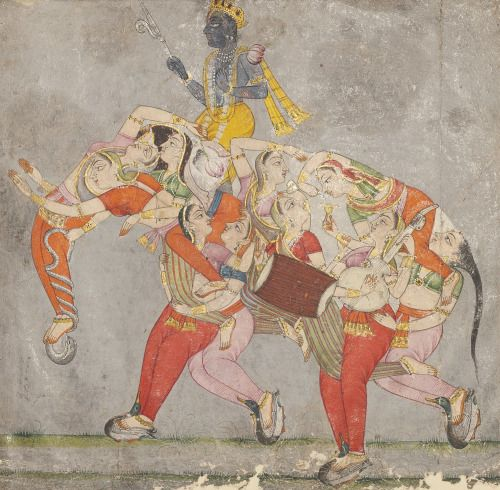 45 best hindu images on pinterest buddha art buddhism and a composite elephantopaque watercolor heightened with gold on fandeluxe Images