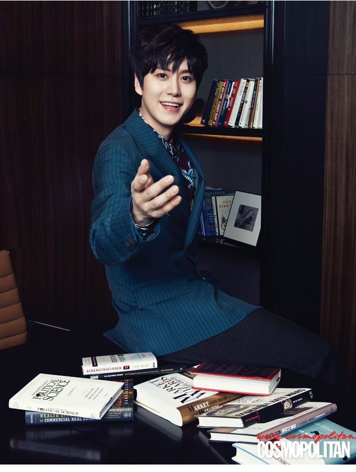Kyu Hyun - Cosmopolitan Magazine May Issue '14