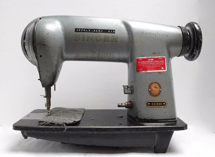 SINGER 451K41, Single Needle, Straight, Differential Feed, Lockstitch, High speed, Industrial Sewing Machine. | eBay!