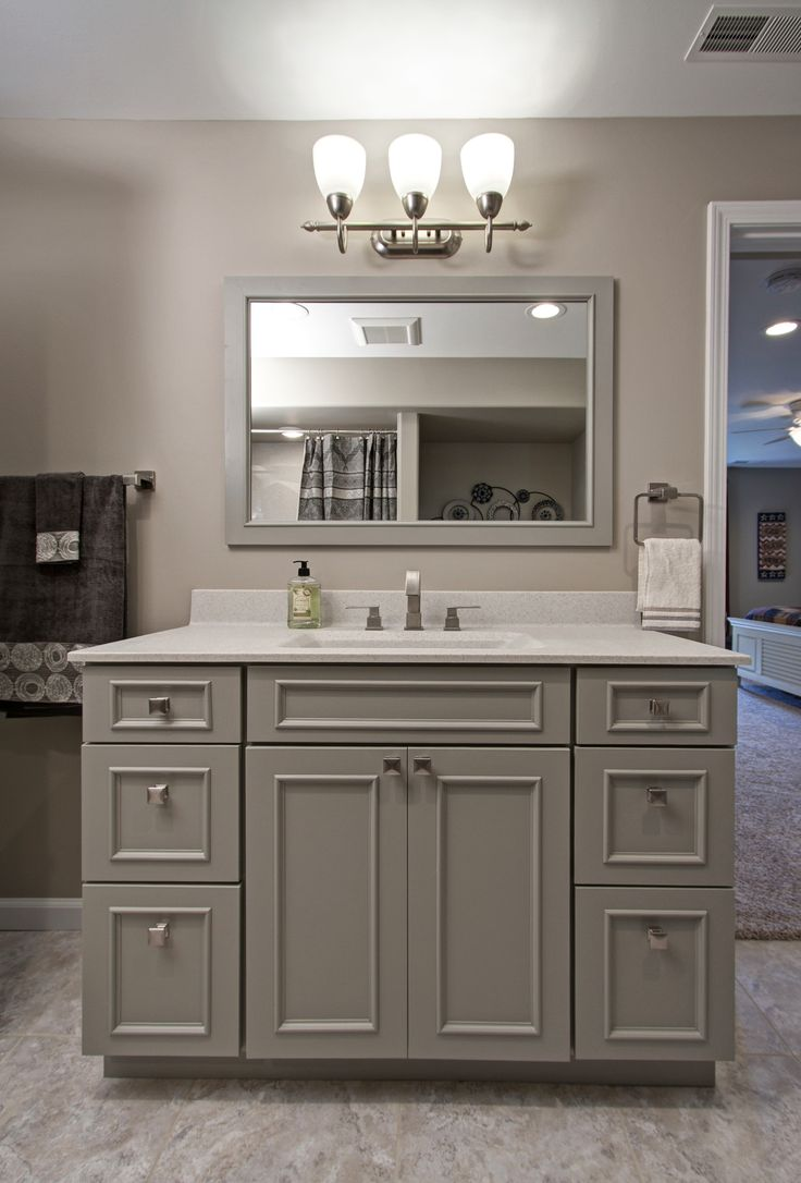212 best dp bathroom and vanity creations showplace - Kitchen cabinets as bathroom vanity ...