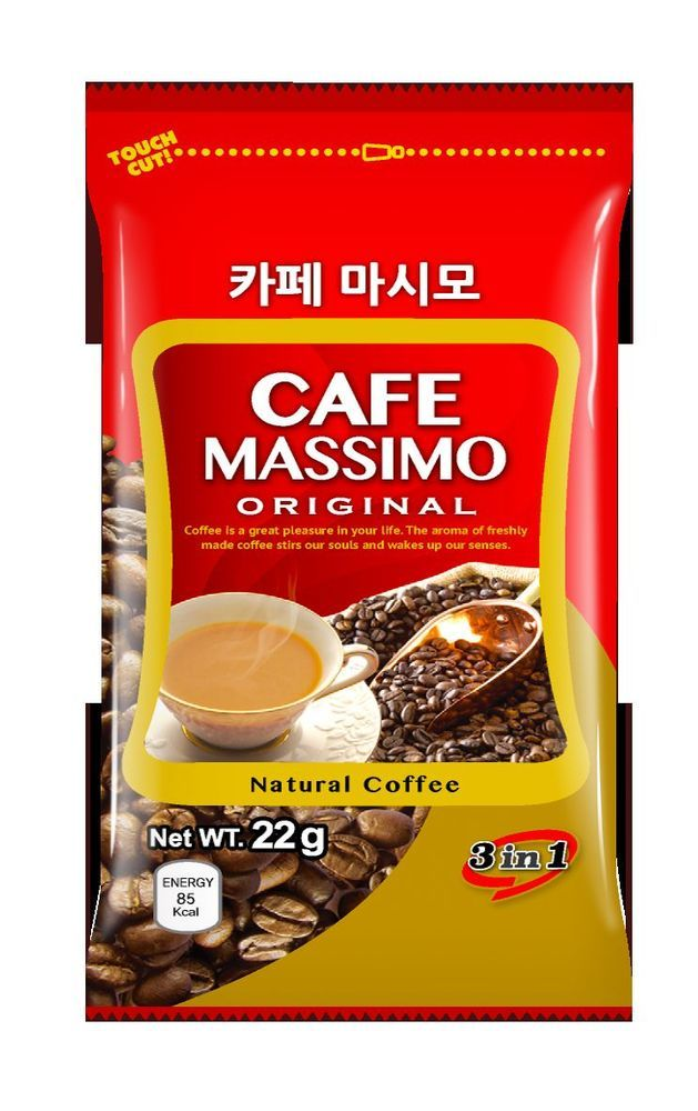 CNF Korea Cafe Massimo Original (3 in 1) Natural Coffee Cream #CNFKorea