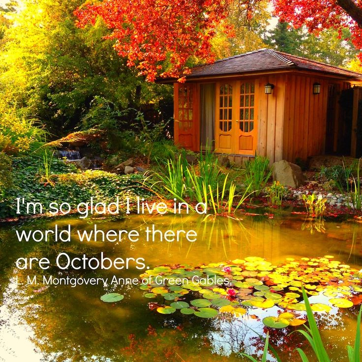 Image result for i'm so glad i live in a world where there are octobers