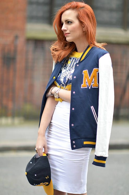 Varsity Jacket  by Not Your Average Style Fix