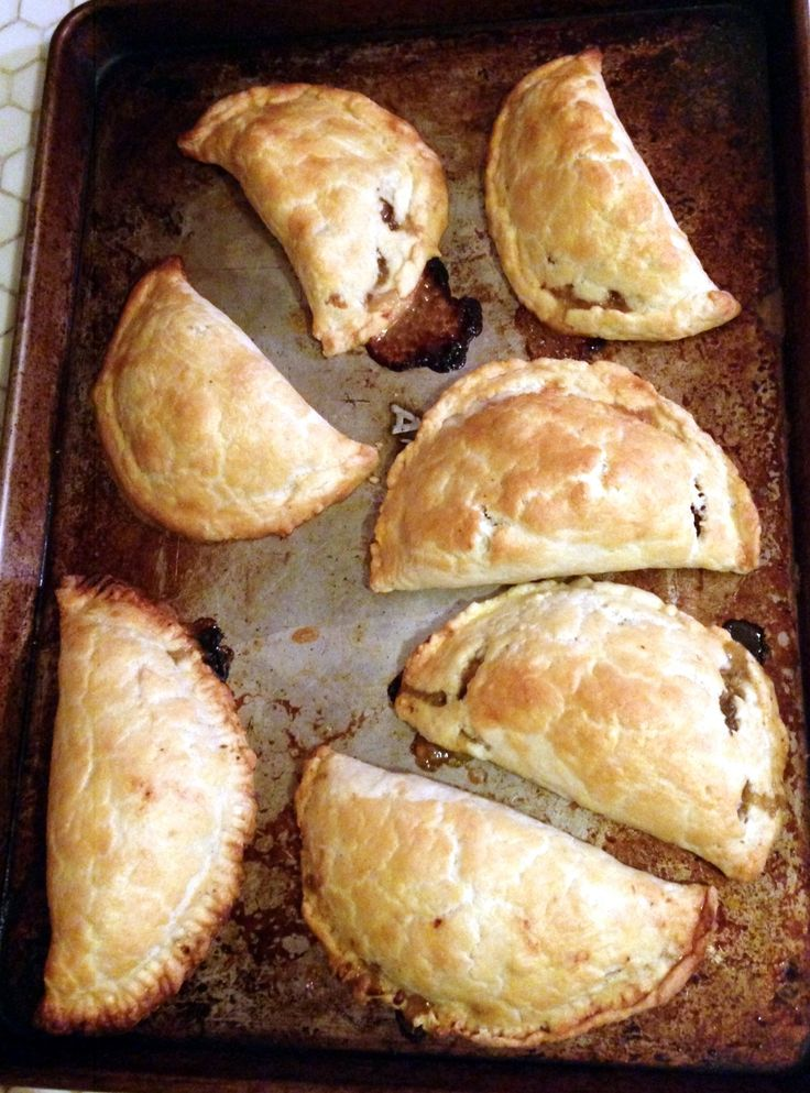 Steak and blue cheese hand pies