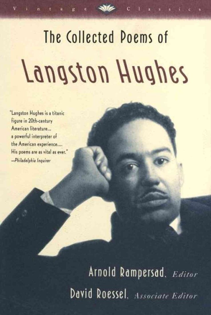 an introduction to the life of langston hughes one of the best black poets of his time Browse through langston hughes's poems and quotes 104 poems of he was one of th langston hughes hughes is best known for his work during the harlem.