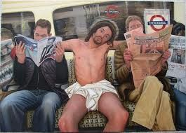 Jesus is portrayed as an everyday person