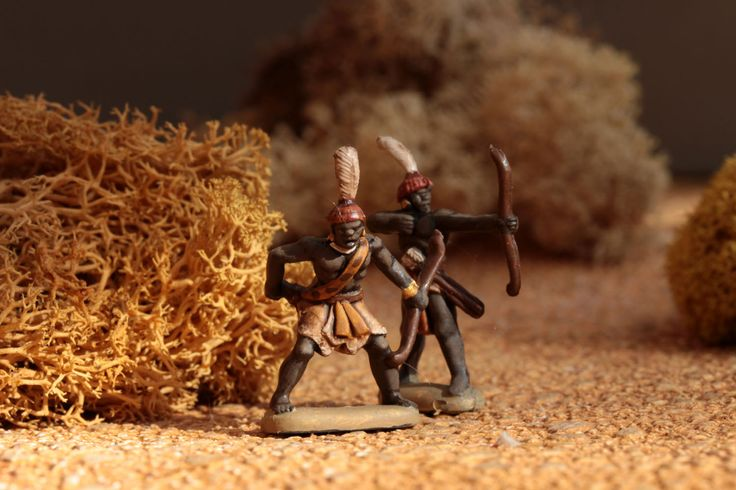 1/72 Ancient Nubians by Hät - minis mini figurines figurine figures figure 20mm 1/72 ancients painting plastic toy soldier miniatures Philotep