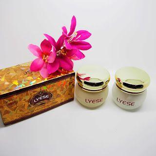 Cream Lyese Kecil / Cream Lyese Set Small / Cream Siang Dan Malam